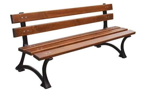Jakie drewno na żeliwną ławkę parkową lub ogrodową?